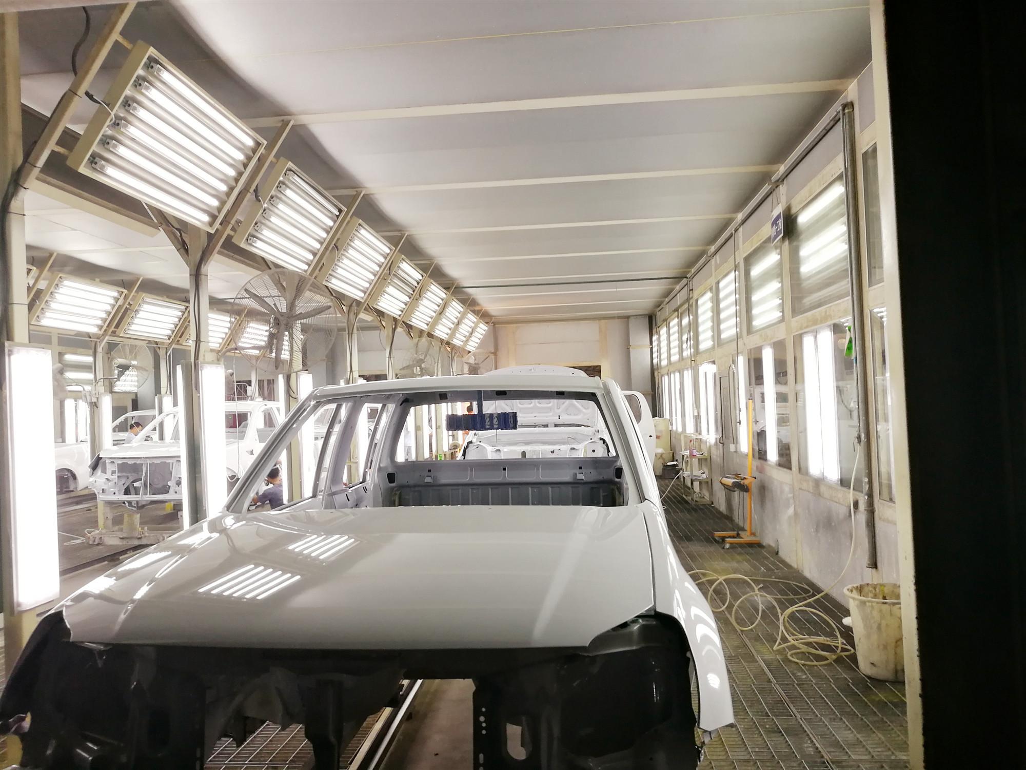 西藏汽车涂装生产线