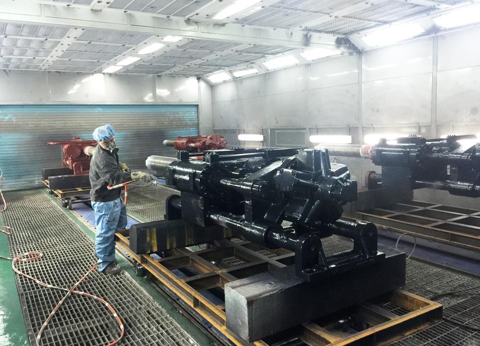 西藏机械喷漆设备